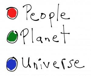 peole planet universe